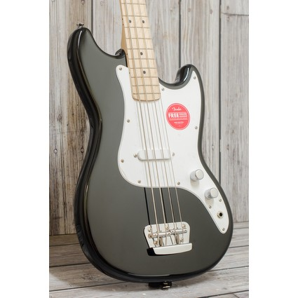 Squier Bronco Bass Black,  Maple Neck (113410)