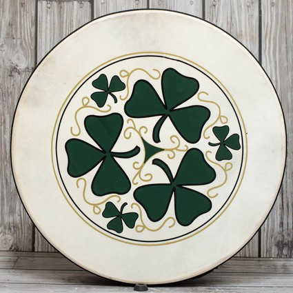 "Performance Percussion 18"" Bodhran Shamrock (114097)"