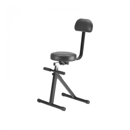 On Stage Dt8500 Stool With Back Rest (114486)