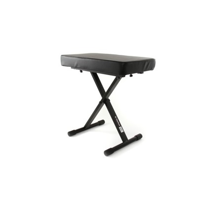 On Stage Kt7800+ Deluxe X Type Keyboard Bench (114530)