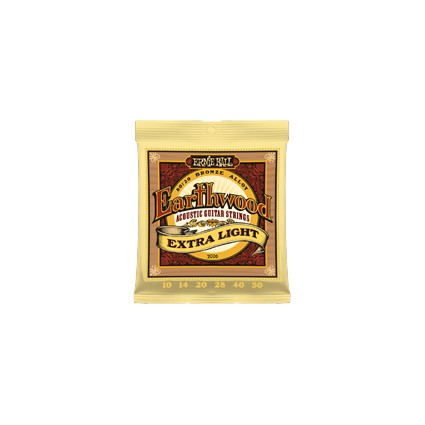Ernie Ball Earthwood Acoustic Strings - Extra Light, 10-50 (116312)
