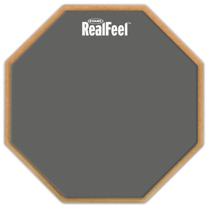 "Real Feel by Evans 12"" Practice Pad (149686)"