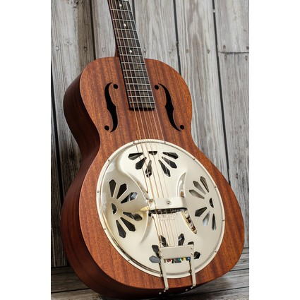 Gretsch G9200 Resonator Guitar -  Boxcar, Round Neck (151184)