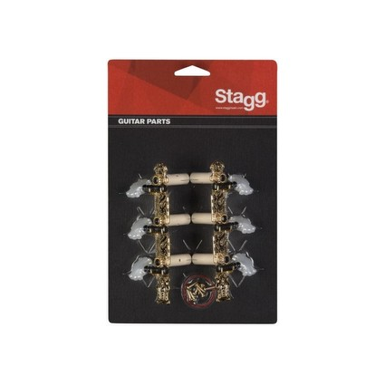 Stagg Classical Machine Head 3 A Side Gold KG360 (152341)