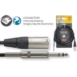 Stagg 6m Male XLR To Stereo Jack Cable NAC6PSXM (161305)