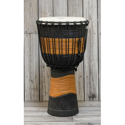 Toca Large Street Series Djembe, Black Stain (169561)