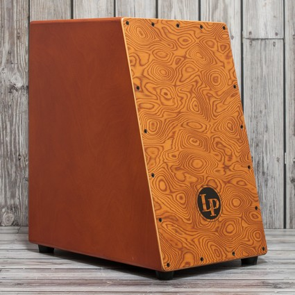 Latin Percussion Angled Surface Burl Cajon LP1433 (169592)