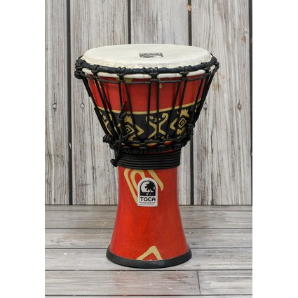 "Toca 7"" Synergy Freestyle Djembe Bali Red (169684)"