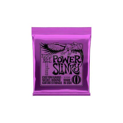 Ernie Ball 11-48 Power Slinky Electric Guitar Strings (178)