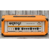 Orange CR120H Crush Twin Channel Guitar Amp Head, 120w Solid State (185431)