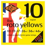 Rotosound Yellows Electric Guitar Strings - 10-46 (192)