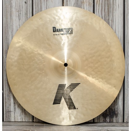 "Zildjian K Dark Crash Thin Cymbal - 16""- Display Stock (192804)"