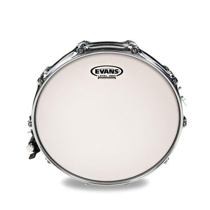 "Evans 14"" Power Center Reverse Dot Snare (206358)"
