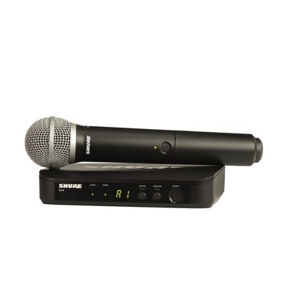 Shure BLX24UK/PG58 Radio Microphone System (211819)