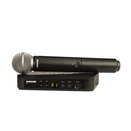 Shure BLX24UK/SM58 Radio Microphone System (211833)