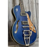Duesenberg Starplayer TV Blue Sparkle Inc Case (224499)