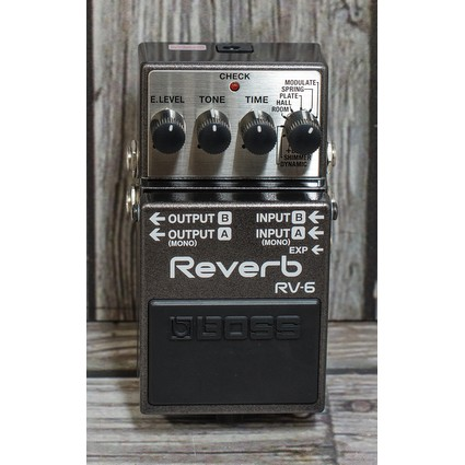 Boss RV-6 Reverb Effects Pedal (233699)