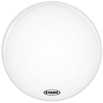 "Evans 22"" EQ3 Smooth White Bass No Port (244312)"