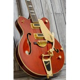 Gretsch G5422TG Electromatic Hollow Body Electric Guitar - Walnut Stain, Gold (245296)