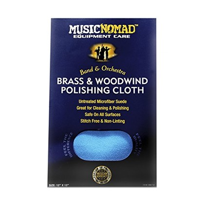 Music NoMad Brass & Wind Untreated Microfibre Cloth (249119)