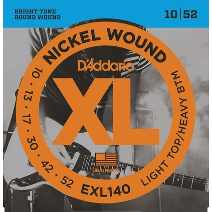 D'addario EXL140 Electric Guitar Strings - 10-52 (251990)