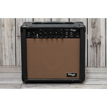 Stagg 15AADR 15w Acoustic Combo With Digital Reverb (258593)