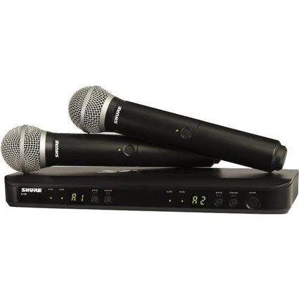 Shure Blx288uk/pg58 Dual Wireless Mic (260220)