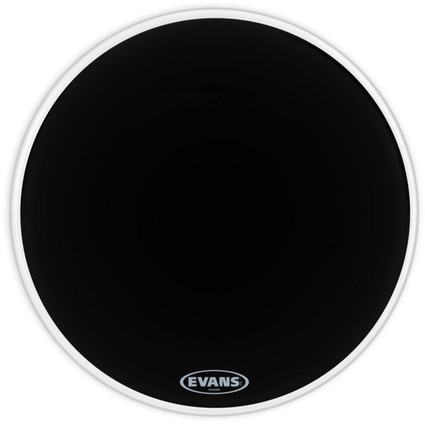 "Evans 20"" Resonant Black Bass Drum Head (263245)"