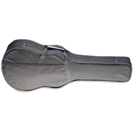 Stagg Acoustic Auditorium Guitar Poly Foam Case Black HGB2-A (264624)