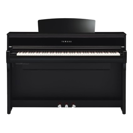 Yamaha CLP675 Clavinova Polished Ebony (264839)