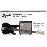 Squier Affinity PJ Bass Pack - Black (266161)