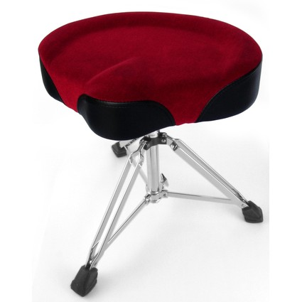 Custom Percussion Cycle Seat Drum Throne Red (266406)