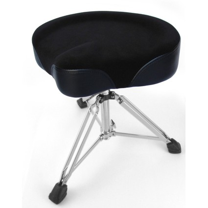 Custom Percussion Cycle Seat Drum Throne Black (266413)