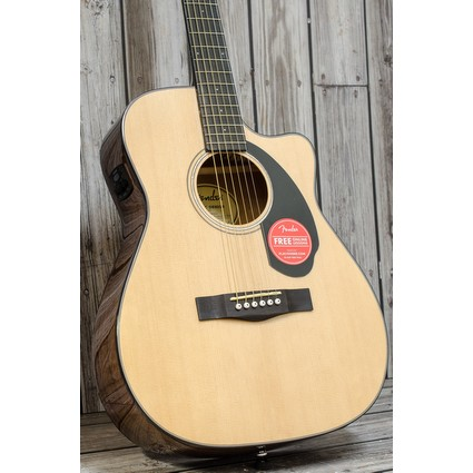 Fender CC60SCE Solid Top Electro Acoustic - Natural (269971)