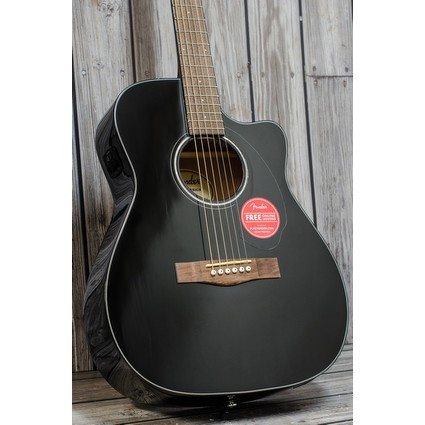 Fender CC60SCE Solid Top Electro Acoustic - Black (269988)