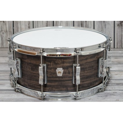 Ludwig Standard Maple Snare 14 X 6.5 Aged Ebony Stain (278676)