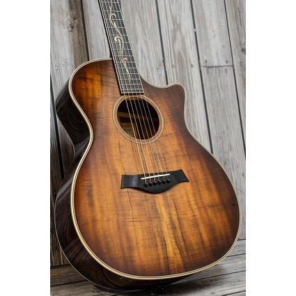 Taylor K24ce V-Class Bracing Electro Acoustic - CLEARANCE (279345)