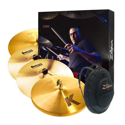 Zildjian K Light Cymbal Box Set - KP100 (280143)