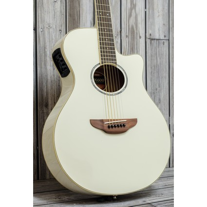 Yamaha Apx600 Electric Acoustic - Vintage White (281089)