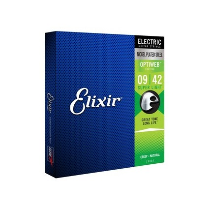 Elixir Optiweb Electric Strings 9-42 (284318)