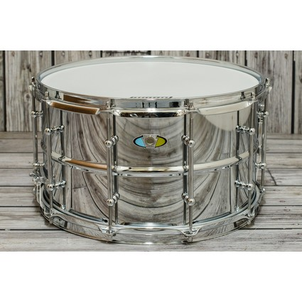"LUDWIG Supralite 14x8"" Steel Snare Drum (286725)"