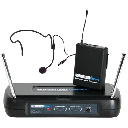 LD Systems ECO 2 Headset Radio Mic System (288590)