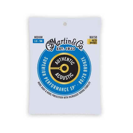 Martin MA150 Authentic Acoustic Strings - 13-56 (290418)