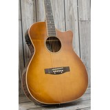 James Neligan Bessie Electro Acoustic Guitar - Dark Cherryburst (291385)