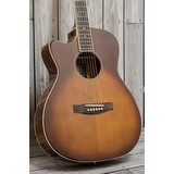 James Neligan Bessie Electro Acoustic Guitar - Dark Cherryburst, Left Hand (291415)