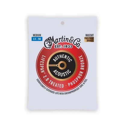 Martin MA550T 13-56 Phosphor Bronze Treated Strings (291514)