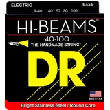 DR HI-BEAMS 40-100 Bass Strings Set - Stainless Steel, Round Core LR40 (293204)