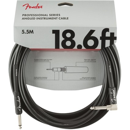 Fender Professional Series Instrument Cable 5.5m 18.6ft A-J (293792)