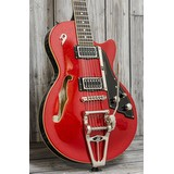 Duesenberg Starplayer TV Red Sparkle Inc Case (297462)