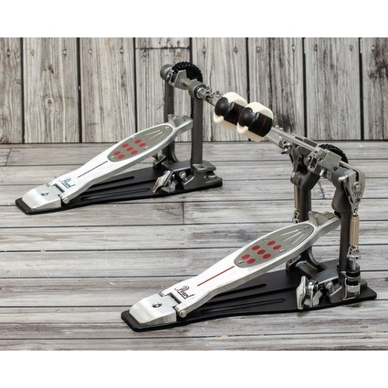 Pearl Eliminator Redline Double Pedal P-2052C - Chain Drive Display Model (298063)